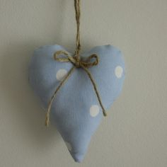 Heart Shaped Door Hanger by Gingham Designs on folksy.com