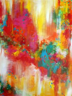 Spectrum - acrylic painting - $1,200