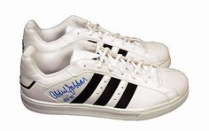 These autographed Kareen Abdul-Jabbar sneakers were a hit at the Hillsides Foster Soles Celebrity Shoe Auction! Check out the video here: http://shoes.tv/dr-drews-hillsides-foster-soles-91051