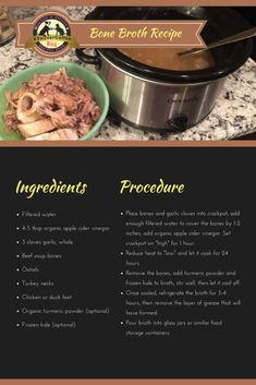 Bone Broth Recipe Fo