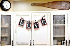Homeroad-Chalkboard Banners and Labels at the Michaels Pinterest Party