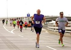 Annual Trail of Two Cities 5K Run/Walk over the causeway between Ocean City and Somers Point