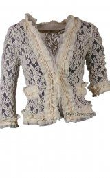 fashion, style, boleros, olivia lace, cardigan bolero