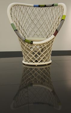 Pavo Real Outdoor Chair by Patricia Urquiola