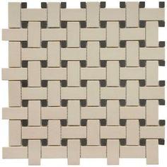 Basketweave wall tiles, master bathrooms, front bathroom, master baths, guest bath, mosaic tiles, bathroom reno, upstairs bathrooms, basketweav floor