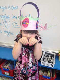 Easter Basket Hat Idea