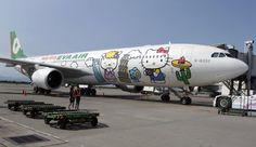 one day, hello kitti, japan, cups, airplanes