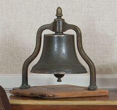 19thC ship's bell. ship bell, bell toll, 19thc ship