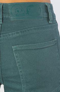 Denim x Cheap Monday The Tight Hi-Waist Skinny #Jean in Petrol