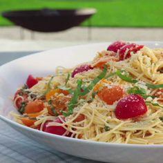 Summer Garden Pasta.  Simple and delicious!