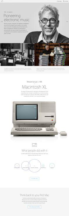 Apple 30 years website
