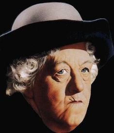 Miss Marple,Margaret Rutherford.  So cute.