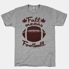 Fall Means Football!