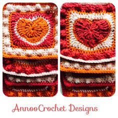 Free Tutorial By AnnooCrochet Designs