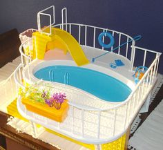 1980 Barbie Dream Pool... I had this!
