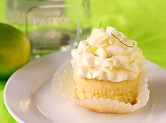 Margarita cupcakes for your Cinco de Mayo.
