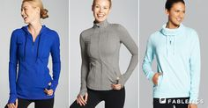 Soho and High Point Jacket and our favorite Kingston Sweatshirt to keep you warm and fuzzy. fabletics.com