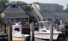 Woof Cottages are located on Swain's Wharf. - The Cottages
