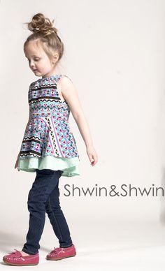 Shwin&Shwin: Georgia Twirl Top/Dress || All the details