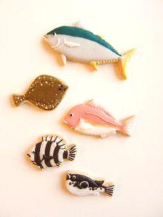 fish cookies.