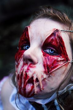 holiday, creepi, kid costum, scari, halloween costumes, halloween makeup, zombi, awesom, horror