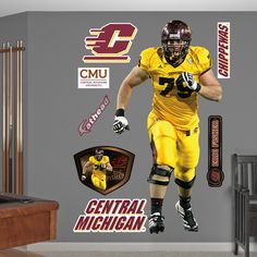 Eric Fisher, Central Michigan Chippewas