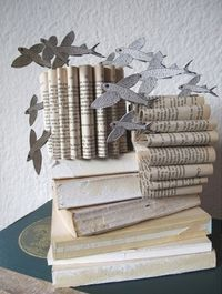 Africa folded | Recycling old books and creating paper folded works of art in South Africa