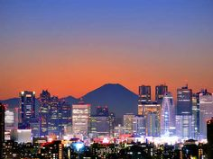 Old Meets New in the Land of the Rising Sun. tokyo citi, favorit place, japan, citi view, mount fuji, beauti place, backgrounds, fuji tokyo, travel
