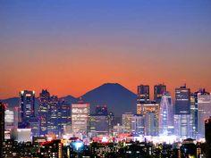tokyo citi, favorit place, japan, citi view, mount fuji, beauti place, backgrounds, fuji tokyo, travel