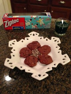 Holiday Traditions and Our Recipe for Chocolate Mint Chunk Cookies ~ Trendy Mom Reviews #Recipes #Mint #Chocolate #Cookies