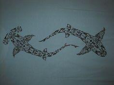 shark tattoo | Maori Shark Tattoo Pattern 2 Tattoology