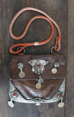 Treasure Blue Moroccan Bag