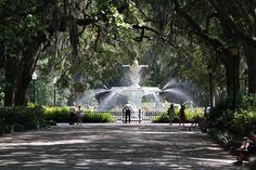 forsyth park, favorit place, childhood memories, parks, fountain, savannahgeorgia, travel, savannah ga, savannah georgia