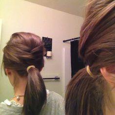 One of my favorite hair styles.