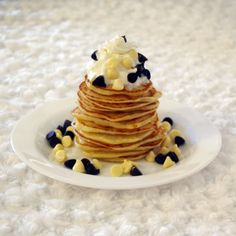 @Mary Kathleen Morelli for pancakes without apples :)  Stack of gluten-free pancakes with whipped cream and choc chips.  Fluffy Delicious Gluten Free Pancakes    2 eggs  1 1/2 cups soy milk  2 tsp vanilla essence (make sure it's GF)  3 tbsp dairy-free margarine  1 1/2 cups GF self-raising flour  2 tbsp sugar...  According to the original recipe I modified ([link]) you should reduce the milk to 1 1/4 cups if you make a non-GF version, but again, it all depends on how think you like your pancakes.
