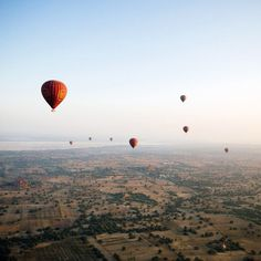 One mode of transportations tops the rest: hot air balloon
