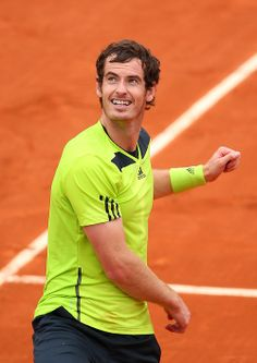 French Open 2014 R2 Andy beat M Matsovic 6-3, 6-1, 6-3
