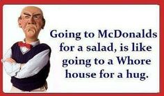 ha ha ha Riiight!!!! chicken salads, funni, grilled chicken, diets, humor, homes, jeff dunham, quot, true stories