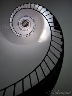 I have a weird obsession with spiral staircases.