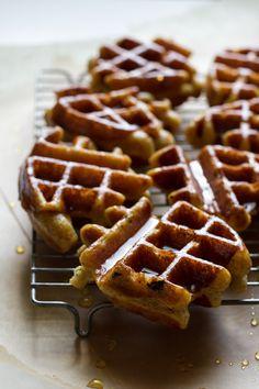 Honey Dipped Doughnut Waffles