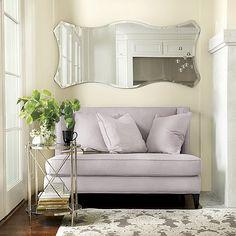 Chantell Frameless Mirror by Ballard Designs  I  ballarddesigns.com