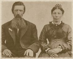 Ma and Pa Ingalls in later years