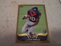 2013 Topps 155 DeAndre Hopkins Gold Border Rookie Parallel Card Numbered 2013 | eBay
