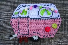 Crochet Pattern - Retro Caravan application