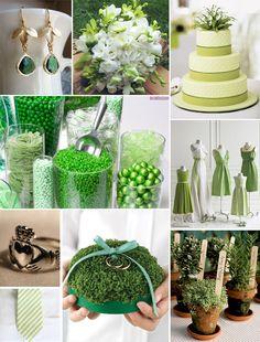 St. Patrick's Day, Ireland, Irish Wedding Inspiration Board from www.dearlc.com