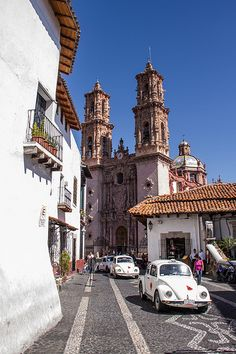 Taxco, Mexico. White washed, charming home of silver.