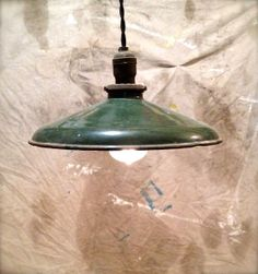 Upcycled Barn Light Pendant Swag Light  Sinclair by OhGloryVintage, $79.00
