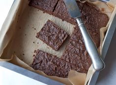 Coconut Flour brownies.  Decent, very healthy, a tad coconutty, but you expect that with coconut flour.