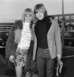 Anita Pallenberg and Brian Jones, AKA my style icons