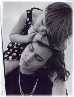 Johnny Depp with his niece